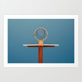 basketball hoop 5 Art Print