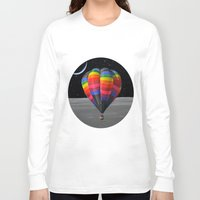 balloon Long Sleeve T-shirts featuring Balloon by Cs025