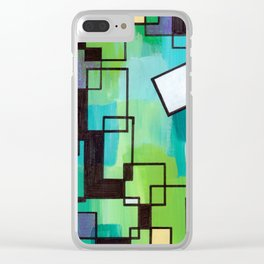 Breaking Conformity Clear iPhone Case