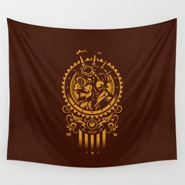 Steampunk 1852 Wall Tapestry