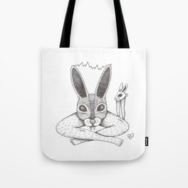 Fluffy Bunny- Shock Therapy Tote Bag