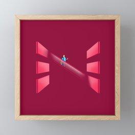 36 - N Framed Mini Art Print