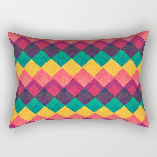 Happy Day Pattern Rectangular Pillow