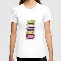 macarons T-shirts featuring Macarons by Bridget Davidson