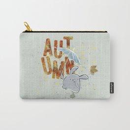Hop, little bunny - autumn Carry-All Pouch
