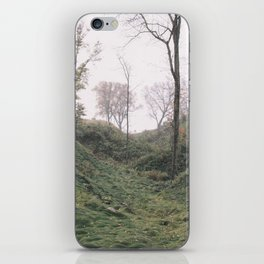 Green Fall Wisconsin Forest Valley iPhone Skin