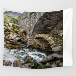 Old Packhorse Bridge  Wall Tapestry