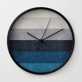 Greece Hues Wall Clock