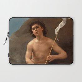 """Francisco Goya """"Saint John the Baptist in the Desert"""" Laptop Sleeve"""