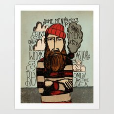SOME MEN ARE SAILORS Art Print
