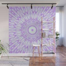 Lavender. Kaleidoscope Wall Mural
