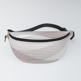 Wine vibes - minimal linear art Fanny Pack