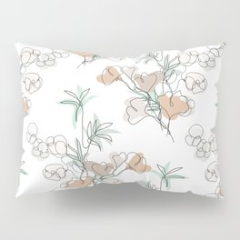Bamboo, Ginkgo and Cotton Pillow Sham