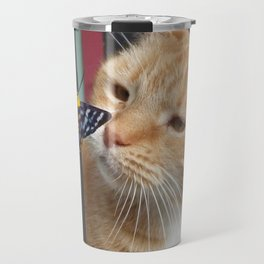 Max and Butterfly Travel Mug