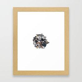Inspired by Katamari Damacy Framed Art Print