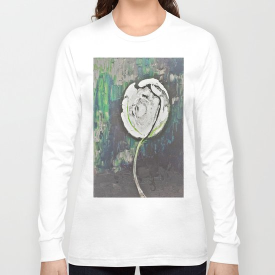 Golden Rose Acrylic Icey Green Mint Chocolate Chip Long Sleeve T-shirt