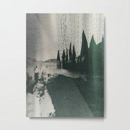 La Llorona en el Rio Grande Metal Print