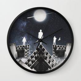 9th JULY - Full Moon Wall Clock