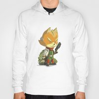 starfox Hoodies featuring Fox by Rod Perich