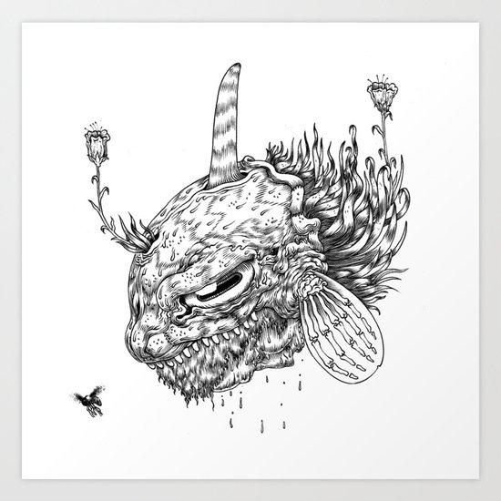 Cycle 2 Art Print