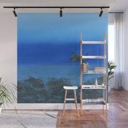 Peaceful Sea Turtle Wall Mural