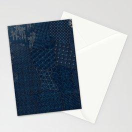 Sashiko - random sampler Stationery Cards