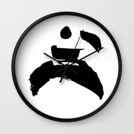 martial-arts Wall Clock