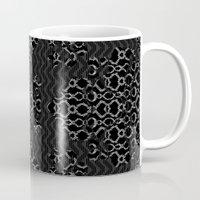 monty python Mugs featuring Python Lace Fantasy by Octavia Soldani