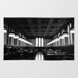 Library Rows Rug
