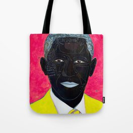 Red, blue, white and black. Tote Bag