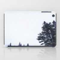 skiing iPad Cases featuring Skiing Copper by Amelia Vilona