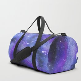 PAINTED GALAXY (Painted, stars, space, milky-way) Duffle Bag