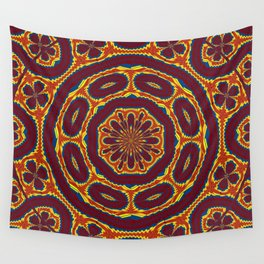 Geometric tapestry Wall Tapestry