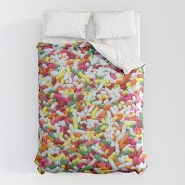 Landscape of Cake Sprinkles Comforters