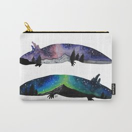 GALAXY STARRY NIGHT AXOLOTL ARTWORK Carry-All Pouch