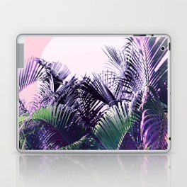 Jungle Sunrise - Ultra violet, green, pink and purple Laptop & iPad Skin