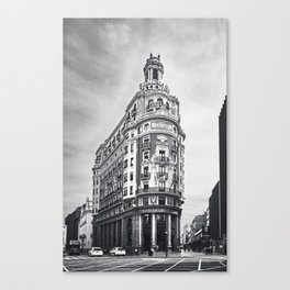 Banco de Valencia Canvas Print