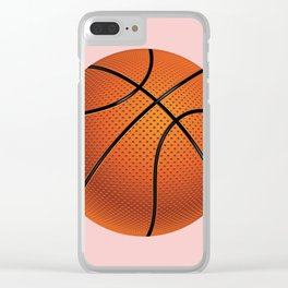 Basketball Ball Clear iPhone Case