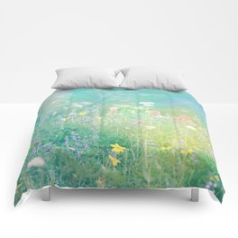 Mountain Wildflowers Comforters
