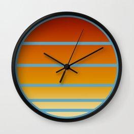 Retro Circle 03 Wall Clock