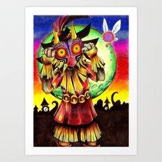 Majora's Mask Art Print