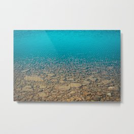 Thicker Than Water Metal Print