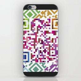 QR codes iPhone Skin