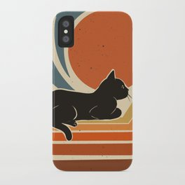 Evening time iPhone Case