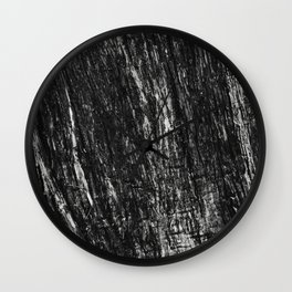 Wood Trunk Wall Clock