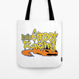 "This ""Brooklyn Street Racing"" vandal style is perfect for exotic and extraordinary person like you!  Tote Bag"
