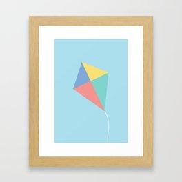 #73 Kite Framed Art Print