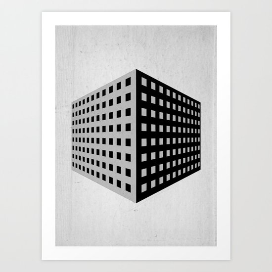 livinginacage Art Print