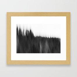 Zeitgefluester NO2 Framed Art Print