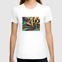 waterfall T-shirts featuring Waterfall by Graham Matthews